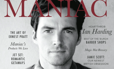 Ian Harding Cover for Maniac Magazine