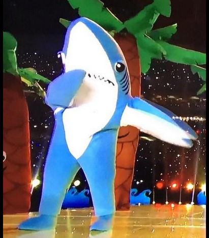 Katy Perry's Super Bowl halftime show dancing shark didn't ...
