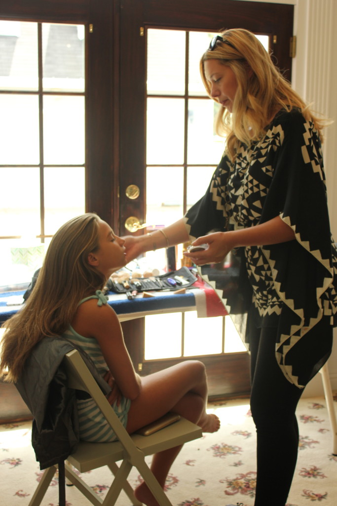 behind the scenes Mackenzie Ziegler for Maniac Magazine
