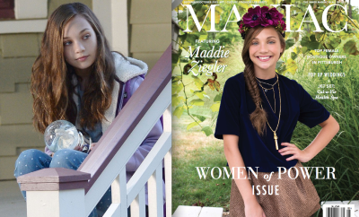 Maddie Ziegler Book of Henry